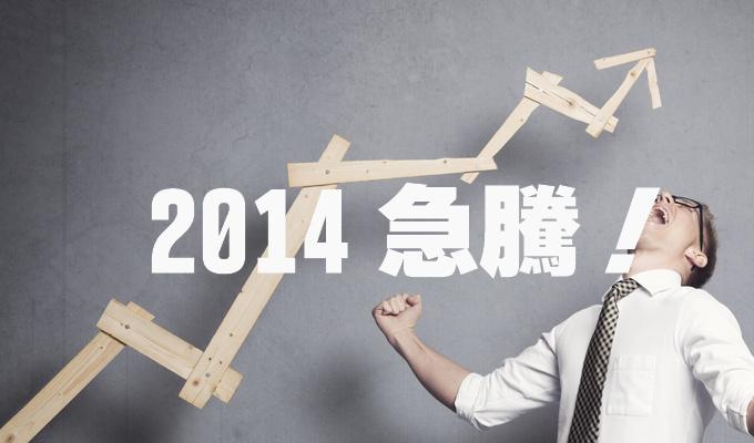 2014年急騰